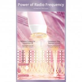 ANLAN KC-6100 Face Massager Alat Pijat Perawatan Kulit Wajah EMS RF- ALSPY01-04 - Pink - 13