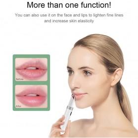 ANLAN MYY06-02 Alat Pijat Mata Electric Pen Eye Massager Anti Aging Rechargeable - ALMYY06-02 - White - 4