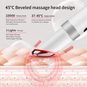 ANLAN MYY06-02 Alat Pijat Mata Electric Pen Eye Massager Anti Aging Rechargeable - ALMYY06-02 - White - 9