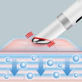 ANLAN MYY06-02 Alat Pijat Mata Electric Pen Eye Massager Anti Aging Rechargeable - ALMYY06-02 - White - 14