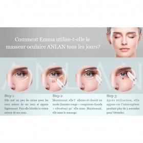 ANLAN MYY06-02 Alat Pijat Mata Electric Pen Eye Massager Anti Aging Rechargeable - ALMYY06-02 - White - 16