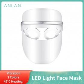 ANLAN DR.AELF-801 Masker Wajah LED Facial Mask Anti Wrinkle Whitening - ALMZ06-02 - White