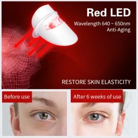ANLAN DR.AELF-801 Masker Wajah LED Facial Mask Anti Wrinkle Whitening - ALMZ06-02 - White - 10
