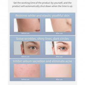 ANLAN DR.AELF-801 Masker Wajah LED Facial Mask Anti Wrinkle Whitening - ALMZ06-02 - White - 14
