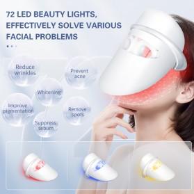 ANLAN DR.AELF-801 Masker Wajah LED Facial Mask Anti Wrinkle Whitening - ALMZ06-02 - White - 3