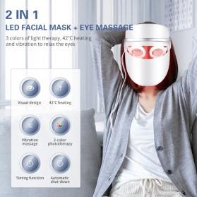 ANLAN DR.AELF-801 Masker Wajah LED Facial Mask Anti Wrinkle Whitening - ALMZ06-02 - White - 4