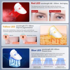 ANLAN DR.AELF-801 Masker Wajah LED Facial Mask Anti Wrinkle Whitening - ALMZ06-02 - White - 6