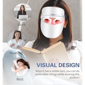 ANLAN DR.AELF-801 Masker Wajah LED Facial Mask Anti Wrinkle Whitening - ALMZ06-02 - White - 9