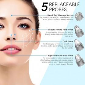 ANLAN Penghisap Komedo Vacuum Suction Skin Face Care Blackhead Pore Cleaner - ALHTY03-01R - White - 3
