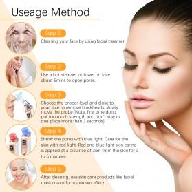 ANLAN Penghisap Komedo Vacuum Suction Skin Face Care Blackhead Pore Cleaner - ALHTY03-01R - White - 6