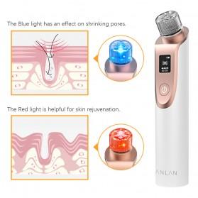 ANLAN Penghisap Komedo Vacuum Suction Skin Face Care Blackhead Pore Cleaner - ALHTY03-01R - White - 8