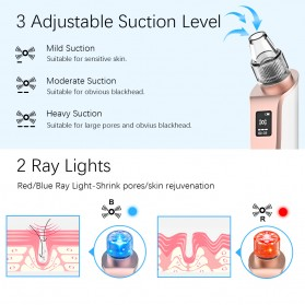 ANLAN Penghisap Komedo Vacuum Suction Skin Face Care Blackhead Pore Cleaner - ALHTY03-01R - White - 11