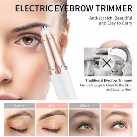 ANLAN Alat Pencukur Alis Electric Portable Eyebrow Shaver - ALXMB02-02 - White - 4