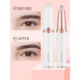 ANLAN Alat Pencukur Alis Electric Portable Eyebrow Shaver - ALXMB02-02 - White - 11