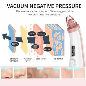 ANLAN BHTYWDF-202 Penghisap Komedo Vacuum Suction Skin Face Care Blackhead Pore Cleaner - ALHTY06-02 - White - 3