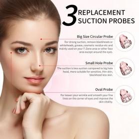 ANLAN BHTYWDF-202 Penghisap Komedo Vacuum Suction Skin Face Care Blackhead Pore Cleaner - ALHTY06-02 - White - 4