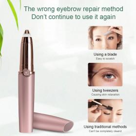 ANLAN Alat Pencukur Alis Electric Portable Eyebrow Shaver - ALXMB03-0R - Rose Gold - 9