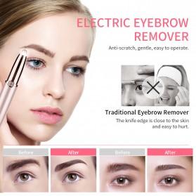 ANLAN Alat Pencukur Alis Electric Portable Eyebrow Shaver - ALXMB03-0R - Rose Gold - 10