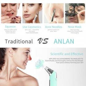 ANLAN Penghisap Komedo Vacuum Suction Skin Face Care Blackhead Pore Cleaner - ALHTY07-06 - Blue - 8
