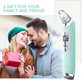 ANLAN Penghisap Komedo Vacuum Suction Skin Face Care Blackhead Pore Cleaner - ALHTY07-06 - Blue - 9