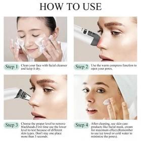 ANLAN HTY08 Penghisap Komedo Vacuum Suction Skin Face Care Blackhead Pore Cleaner - ALHTY08-02 - White - 12