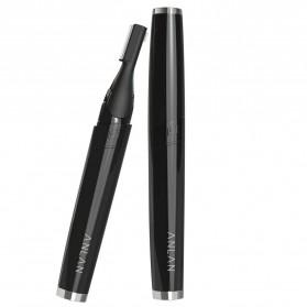 ANLAN XMD01 Alat Pencukur Alis Electric Portable Eyebrow Shaver - ALXMD01-01 - Black - 2