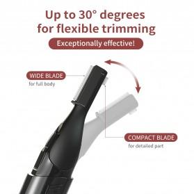 ANLAN XMD01 Alat Pencukur Alis Electric Portable Eyebrow Shaver - ALXMD01-01 - Black - 7