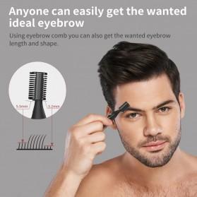 ANLAN XMD01 Alat Pencukur Alis Electric Portable Eyebrow Shaver - ALXMD01-01 - Black - 11