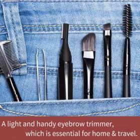 ANLAN XMD01 Alat Pencukur Alis Electric Portable Eyebrow Shaver - ALXMD01-01 - Black - 14