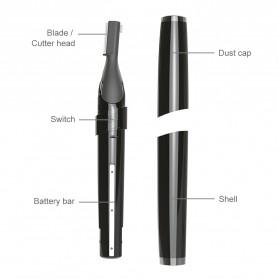 ANLAN XMD01 Alat Pencukur Alis Electric Portable Eyebrow Shaver - ALXMD01-01 - Black - 16
