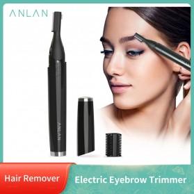 ANLAN XMD01 Alat Pencukur Alis Electric Portable Eyebrow Shaver - ALXMD01-01 - Black - 22