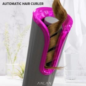 ANLAN MDJ-808 Catok Pengkriting Rambut Portable Wireless Automatic Hair Curler - ALJFQ01-OG - Black - 3