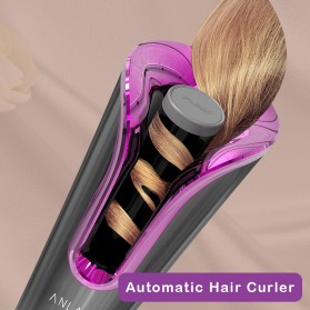 ANLAN MDJ-808 Catok Pengkriting Rambut Portable Wireless Automatic Hair Curler - ALJFQ01-OG - Black - 9