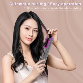 ANLAN MDJ-808 Catok Pengkriting Rambut Portable Wireless Automatic Hair Curler - ALJFQ01-OG - Black - 12