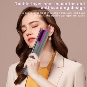 ANLAN MDJ-808 Catok Pengkriting Rambut Portable Wireless Automatic Hair Curler - ALJFQ01-OG - Black - 13