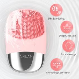 ANLAN DL001 Sikat Pembersih Wajah Sonic Electric Facial Cleansing Brush - ALJMY04-04 - Pink - 6