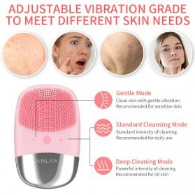 ANLAN DL001 Sikat Pembersih Wajah Sonic Electric Facial Cleansing Brush - ALJMY04-04 - Pink - 8