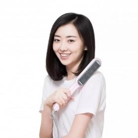 Yueli Catokan Rambut Negative Ion Hair Straightening Comb - HS-528 - White - 3