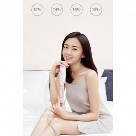 Yueli Catokan Rambut Negative Ion Hair Straightening Comb - HS-528 - White - 9