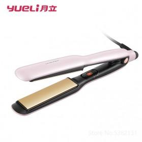 Yueli Catokan Rambut Elektrik Hair Straightener Comb - HS-505/506 - Pink