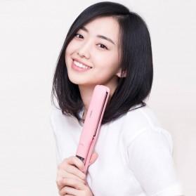 Yueli Catokan Rambut Elektrik Hair Straightener Comb - HS-507/521 - Pink