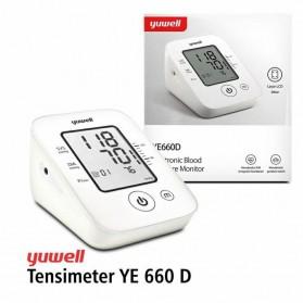 Yuwell Pengukur Tekanan Darah Tensi Electronic Blood Pressure Monitor - YE660D - White - 2