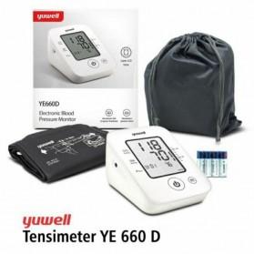 Yuwell Pengukur Tekanan Darah Tensi Electronic Blood Pressure Monitor - YE660D - White - 3