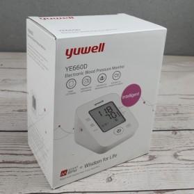 Yuwell Pengukur Tekanan Darah Tensi Electronic Blood Pressure Monitor - YE660D - White - 4
