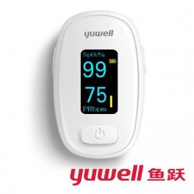 Yuwell Alat Pengukur Detak Jantung Kadar Oksigen Fingertip Pulse Oximeter - YX306 - White