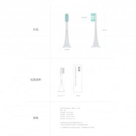 Xiaomi Mickey Sonic Kepala Sikat Gigi Elektrik 3 PCS - White - 5