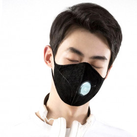 Xiaomi AirPOP Light 360 Degree Masker Anti Polusi PM2.5 - F95 - Black