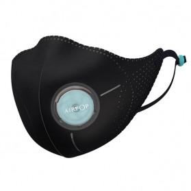 Xiaomi AirPOP Light 360 Degree Masker Anti Polusi PM2.5 - F95 - Black - 3