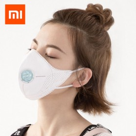 Xiaomi AirPOP Light 360 Degree Masker Anti Polusi PM2.5 - F95 - White - 2