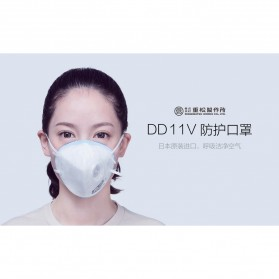 Xiaomi Masker Filter Udara Anti Polusi PM2.5 DD11V - White - 3